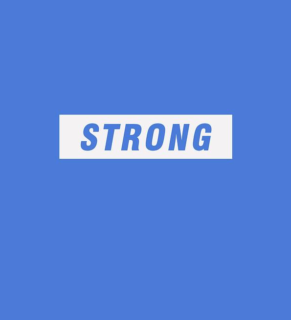 Strong design sblue