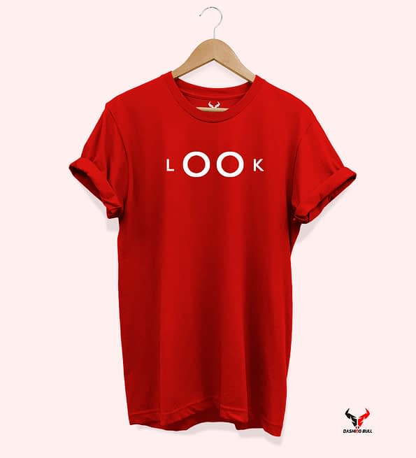 Look red