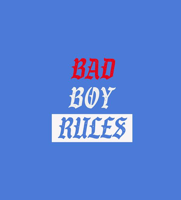 Bad Boy Rules Design sblue