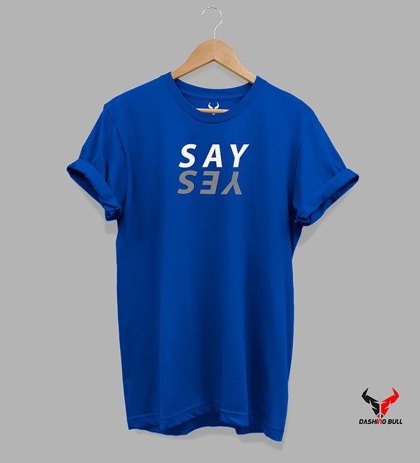 say yes sb