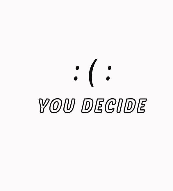 You Deside design white
