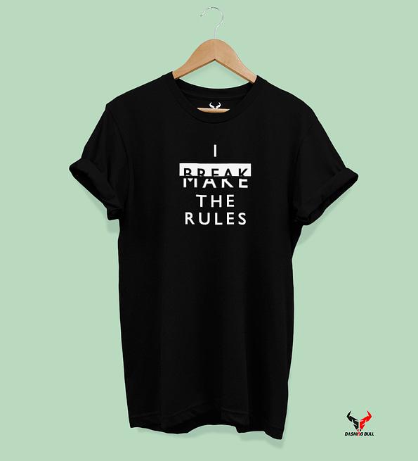 I Break The Rules Black